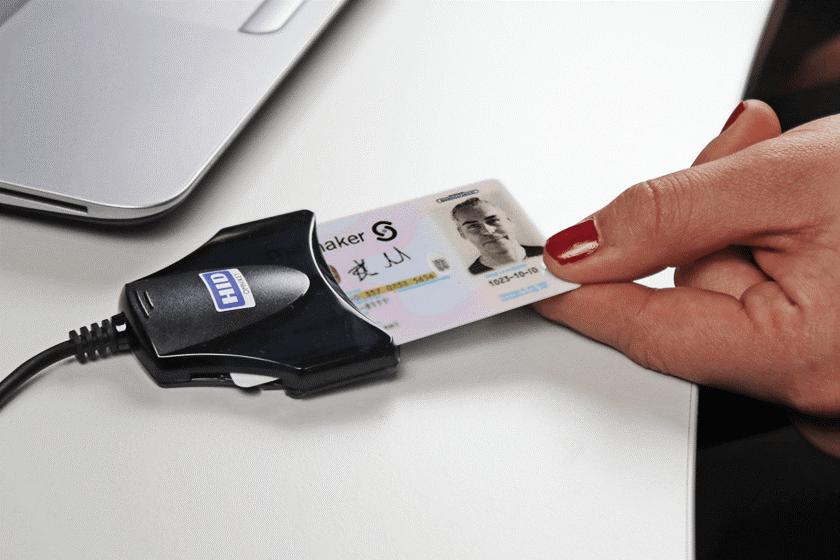 svart kortläsae mer smartkort i