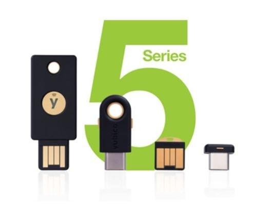 YubiKeys 5 serie